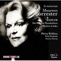 Praga Digitals - Maureen Forrester - In memoriam Boitier cristal