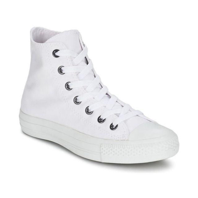 CONVERSE Baskets Ctas Moni Hi Chaussures Femme Blanc Achat