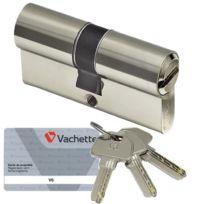 Vachette - Cylindre de securite V6 Barillet 30 x 40 pour serrure de porte
