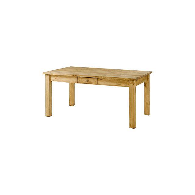 Table repas rectangulaire 160x90 cm - Terro