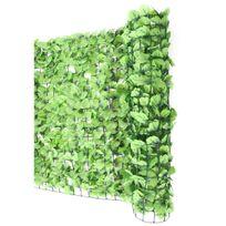 Mendler - Haie artificielle/brise vue pr balcon, feuilles, 300x100cm