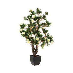 soldes paris prix plante artificielle azal e 81cm blanc pas cher achat vente petite d co. Black Bedroom Furniture Sets. Home Design Ideas