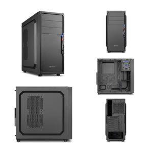 Pc de bureau Intel i7-7700 4x 3.60Ghz max 4.2Ghz Intel Hd- Graphics 630, 8 Go Ram Ddr4 2133Mhz, 250 Go Ssd, 1 To Hdd, Usb 3.0, Wifi, Full Hd 1080p, Alim 80+. Unité centrale avec Windows 10_4
