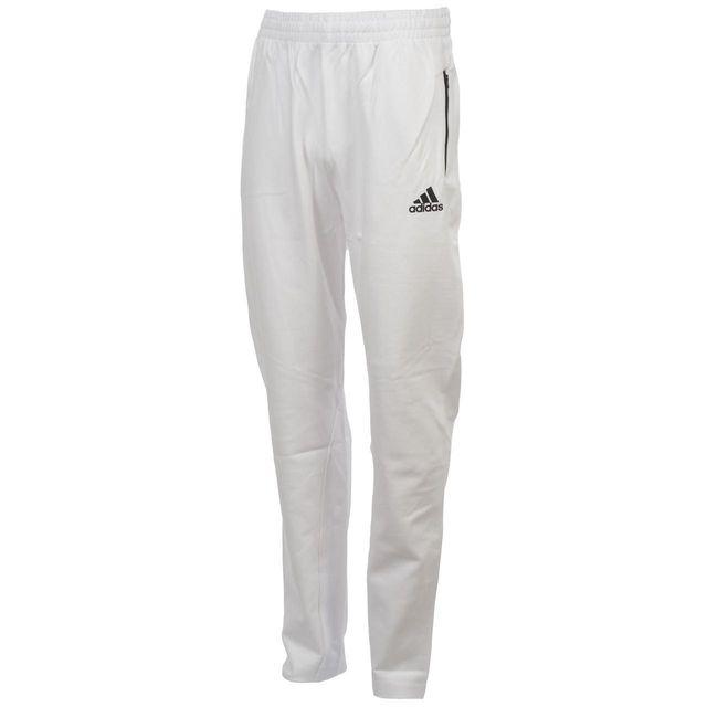 Adidas - Pantalon de survêtement Zne kn pt blanc noir j Blanc 39983 15 - pas  cher Achat   Vente Survêtement enfant - RueDuCommerce 185155932712