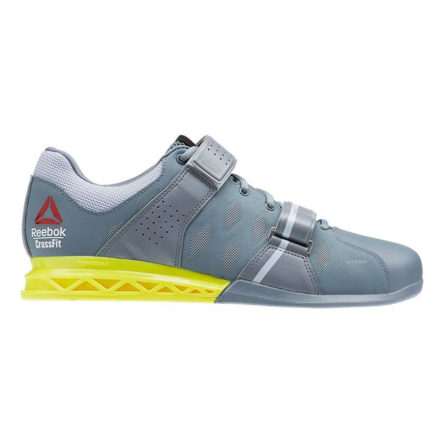 Reebok Chaussures CrossFit Lifter Plus 2.0 gris jaune