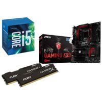 RUE DU COMMERCE - Kit EVO Skylake - INTEL Core i5 6400 - MSI B150 Gaming M3 - 2x 4 Go DDR4 KINGSTON HyperX Fury 2133 MHz CAS 14