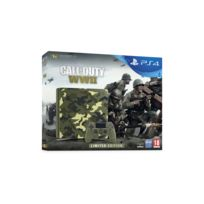 SONY - Pack PS4 1 To E Black + Call of Duty : World War II + That's You