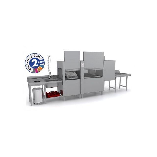 Colged Lave-vaisselle à avancement automatique - Prélavage + Lavage + Rinçage - Isy31102