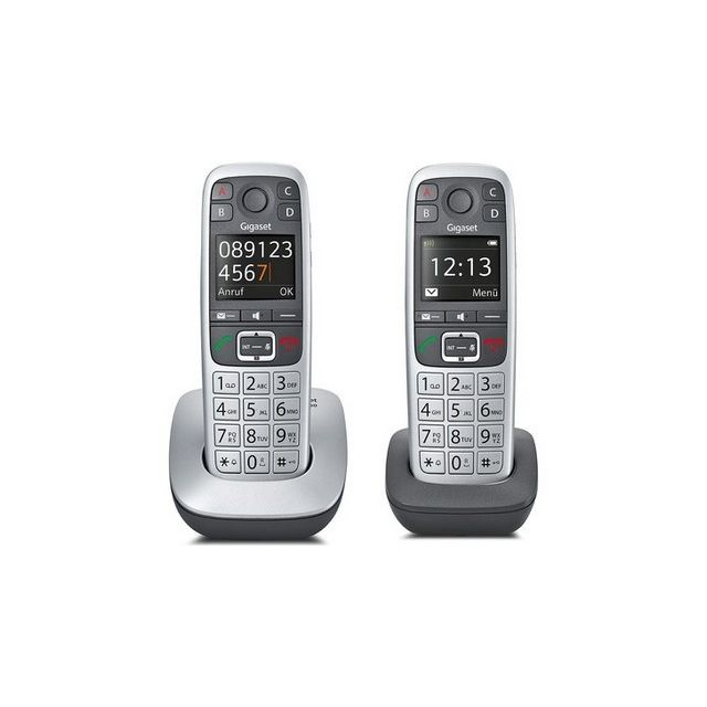 gigaset e560 duo pas cher achat vente t l phone fixe filaire rueducommerce. Black Bedroom Furniture Sets. Home Design Ideas