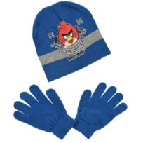 Angry Birds - Lot Bonnet + Gants