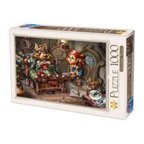 DTOYS - Puzzle 1000 pièces : Contes de fées : Le Petit Chaperon Rouge