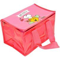 Monsieur Madame - Lunch Bag Enfant Sac Repas Isotherme Mr Et Mme Bonheur Rose