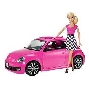 barbie bjp37 poup e mannequin barbie et cabriolet cocinnelle volkswagen pas cher achat. Black Bedroom Furniture Sets. Home Design Ideas