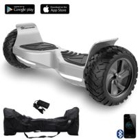EVERCROSS - CHALLENGER BASIC HOVERBOARD, GYROPODE HUMMER TOUT TERRAIN 8.5 POUCES Gris