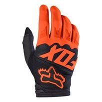 Fox - Gants Dirtpaw Race orange noir