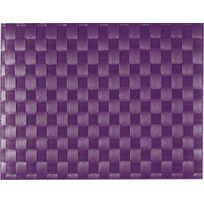 Saleen - Set De Table Tissé 40x30 Cm - Violet