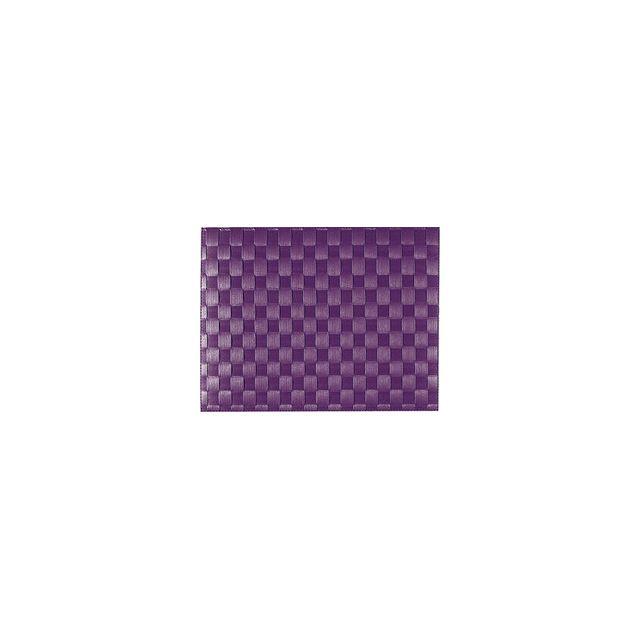 Saleen Set De Table Tissé 40x30 Cm - Violet