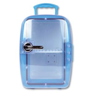 Mini frigo froid chaud 6 litres petit r frig rateur bar maison voiture bureau pas cher - Conservation aliments cuits hors frigo ...