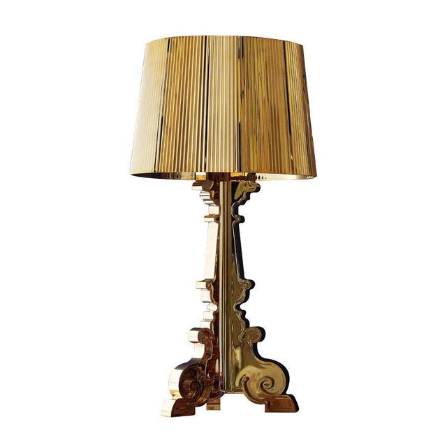 kartell bourgie lampe poser or h68 78cm pas cher achat vente lampe de lecture. Black Bedroom Furniture Sets. Home Design Ideas
