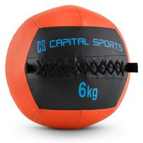 CAPITAL SPORTS - Epitomer Wall Ball 6kg cuir synthétique -orange