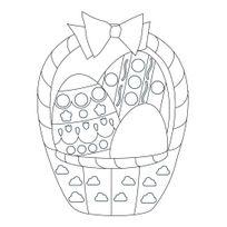 Maildor - formes de pâques à colorier et à sticker à l'aide des gommettes géométriques - pochette de 20