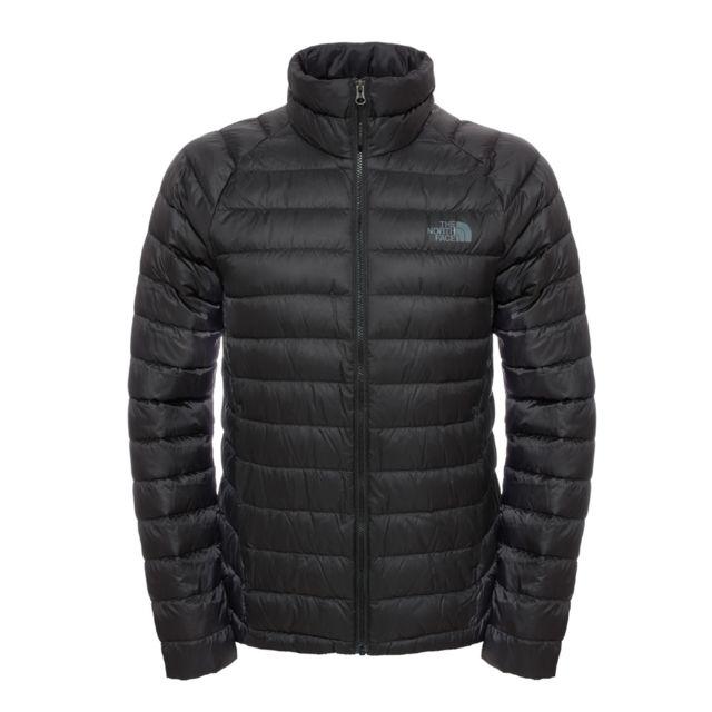 The north face - Doudoune en duvet Trevail Jacket - pas cher Achat   Vente  Doudoune homme - RueDuCommerce 120a8ee8918