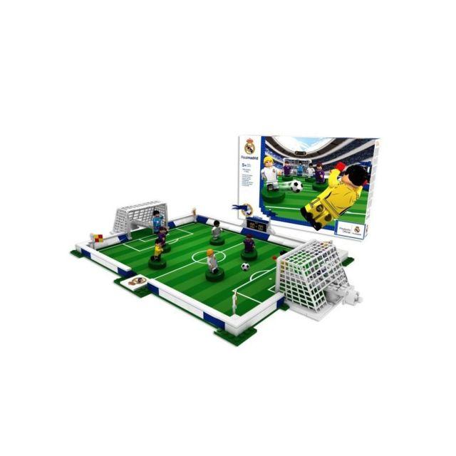 Mega Bleu Megableu Nanostar Terrain de foot a construire Real Madrid Fa