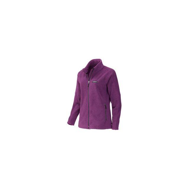 e16d08a07d4db Trangoworld - Veste Neku violet femme - pas cher Achat / Vente Polaires,  gilets - RueDuCommerce