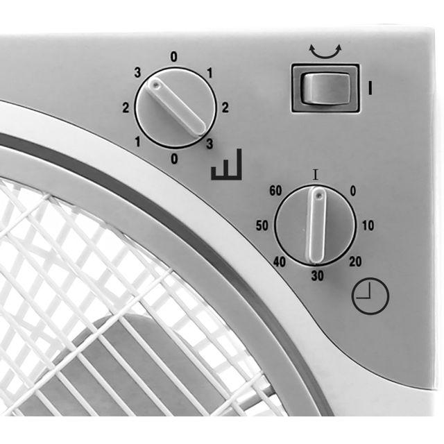 BLUESKY Ventilateur de table BBF12-17