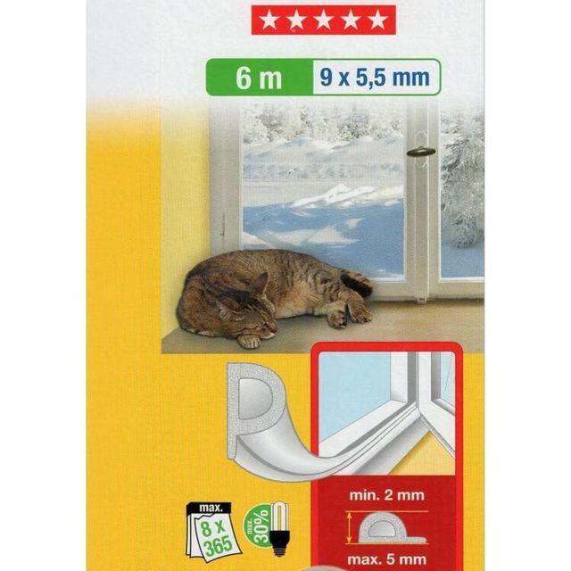 empasa joint de calfeutrage pour fen tre type p marron 10m pas cher achat vente tous. Black Bedroom Furniture Sets. Home Design Ideas