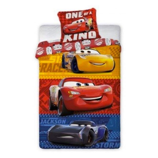 Cars - Cars Disney Kind - Parure de Lit Enfant - Housse de Couette Coton 81db6c760779