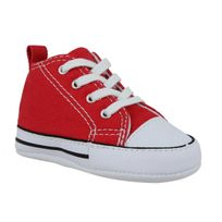 Converse - First Star toile Enfant-18-Rouge