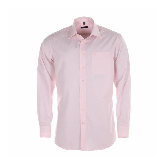 jean chatel chemise homme sans repassage paris rose pas cher achat vente chemise homme. Black Bedroom Furniture Sets. Home Design Ideas