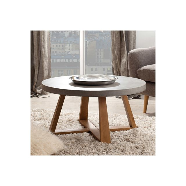 Table basse ronde Atylia