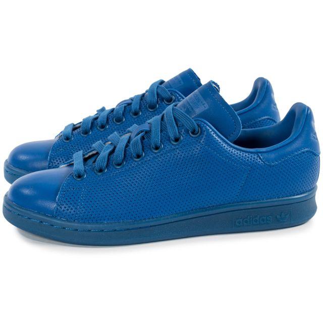 Adidas Stan Smith Adicolor W Bleu pas cher Achat Vente