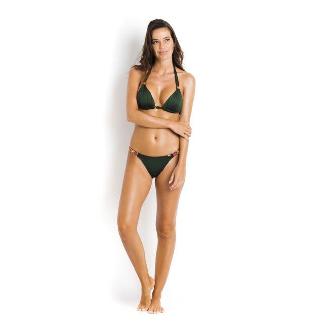 961f7e7c81 Banana Moon - Haut de bikini triangle push up Kaki - Niko Ninabell - pas  cher Achat / Vente Maillots 2 pièces - RueDuCommerce