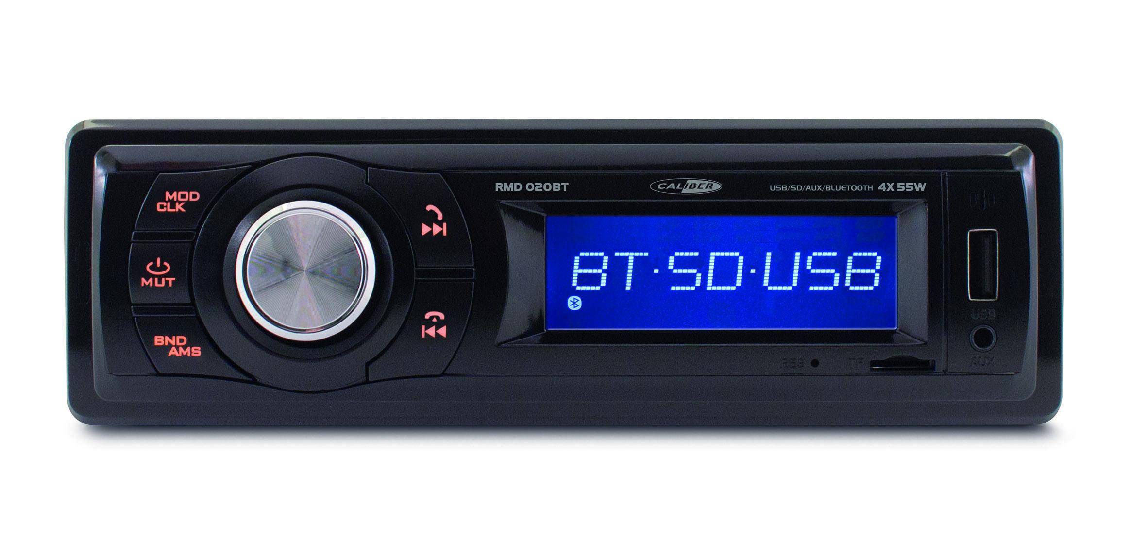 Autoradio USB/SD Bluetooth - tuner FM et entrée AUX