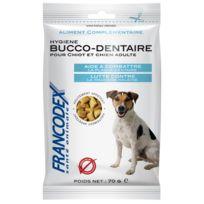 Francodex - Friandises Hygiene Bucco-dentaire Pour Chien 70 Gr