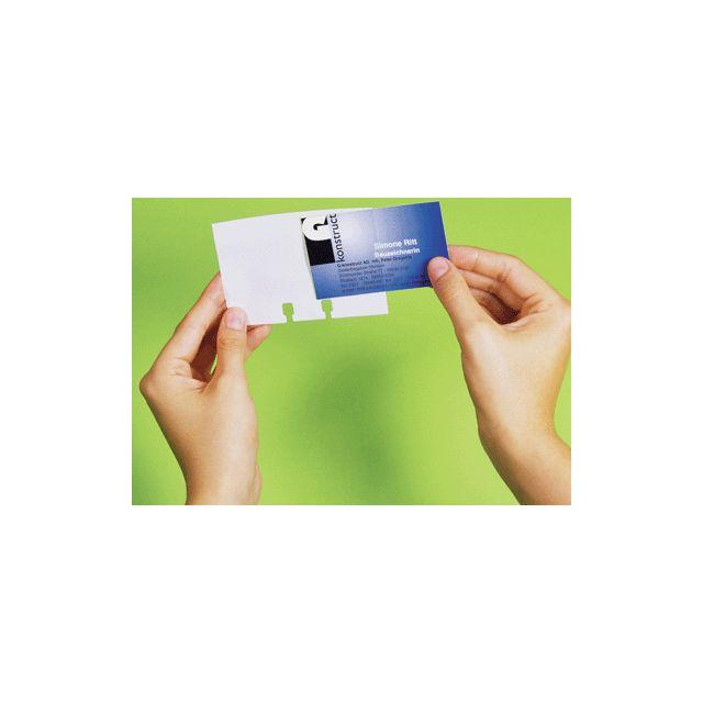 Durable - recharge pour visifix desk carte de visite - pochette de ... 9eca5be072e