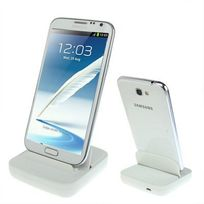 Yonis - Dock de synchronisation Samsung Galaxy Note 2 et Note chargeur Blanc