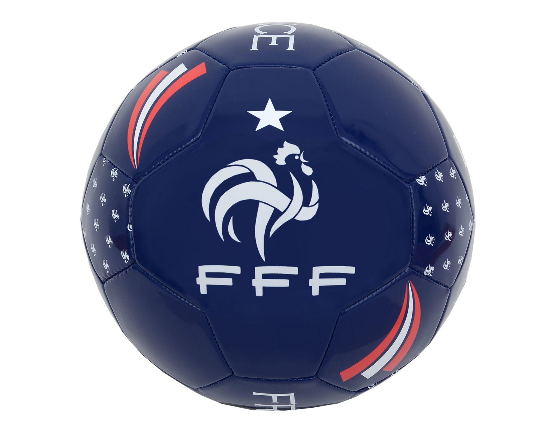 fff ballon de football taille 5 bleu pas cher. Black Bedroom Furniture Sets. Home Design Ideas