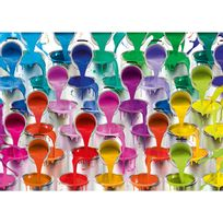 Schmidt - Puzzle 1000 pièces : Cascade de pots de peinture