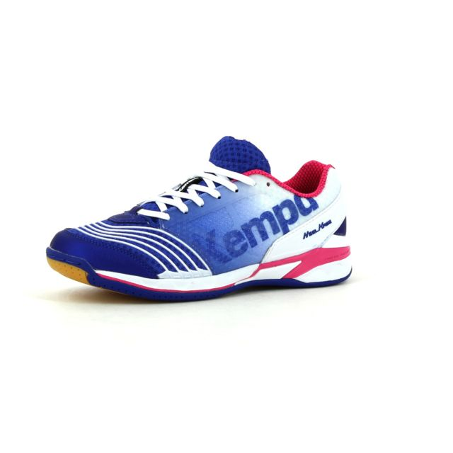 Kempa Chaussures Indoor Attack One Bleu pas cher Achat