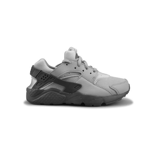 396a66de9e16 Nike - Air Huarache Run Enfant Gris Loup 704949-032 29 1 2 - pas cher Achat    Vente Baskets enfant - RueDuCommerce