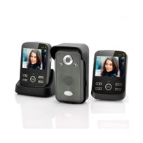 Auto-hightech - Interphone visiophone sans fil + 2 moniteur 3,5 pouces fonction Photo et Vidéo