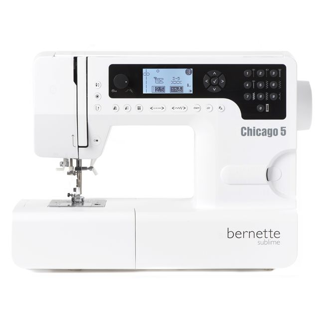 BERNETTE Machine a coudre Chicago 5 - Quilt & Patc