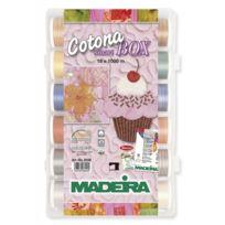 MADEIRA - Smart Box fils à quilter Cotona 8036
