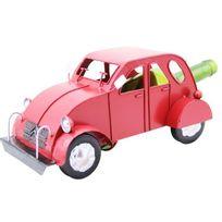 Class Wine - Porte bouteille métal voiture 2cv rouge