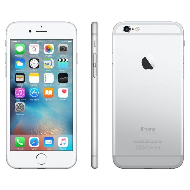 destockage apple iphone 6 128 go argent. Black Bedroom Furniture Sets. Home Design Ideas