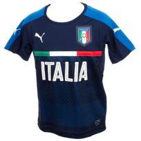 Puma - Maillot de football Figc italia train nv jr Bleu 20324